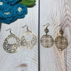 Women's dangle earrings bundle